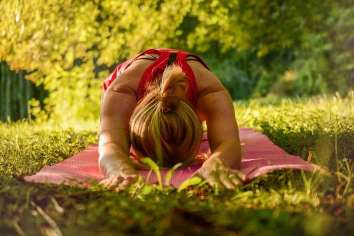 Yoga in Fattoria Didattica
